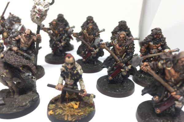 Bear Clan & Dwarfchieftain