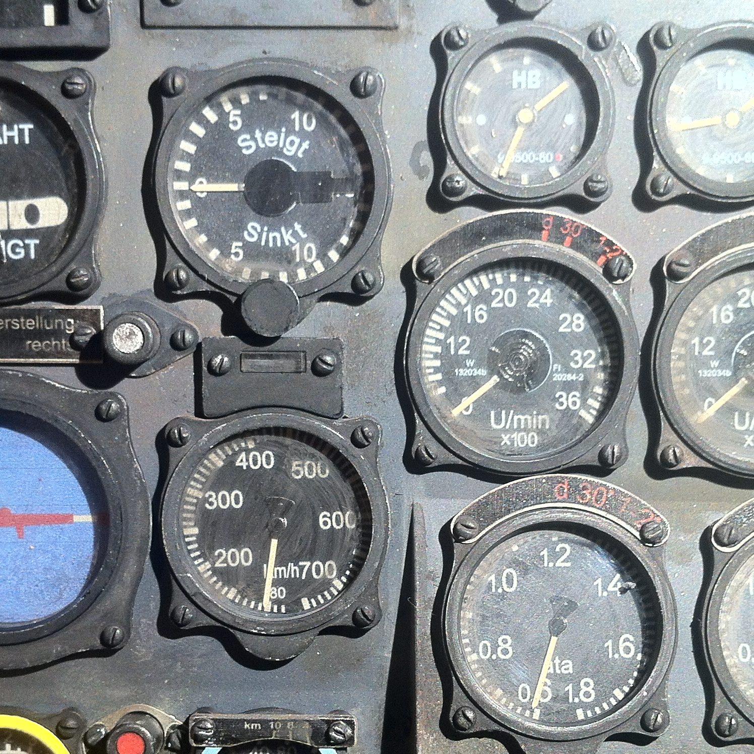 BF-110 Instrument Panel